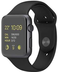 Apple Watch Sport 42mm Space Grey with Replacement Black Band - Grade B- 12 Months Warranty £94.99 @ Student Computers
