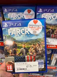 Far Cry 5 PS4 (Used) £15 @ CeX
