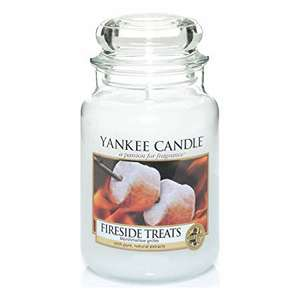 Yankee Candle Fireside Treats (Large Jar) - £13.99 Prime / £18.48 Non Prime (Was £18.17) @ Amazon
