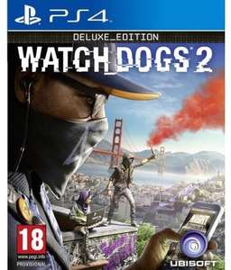 Watch Dogs 2 PS4 (pre-owned) £4.22 @ musicMagpie