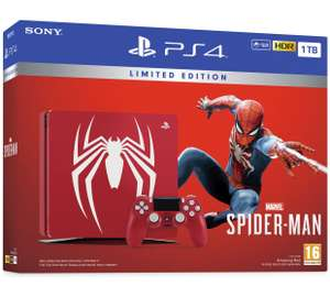 Limited edition red Sony PS4 1TB Marvel's Spider-Man Console & Game Bundle   @ argos