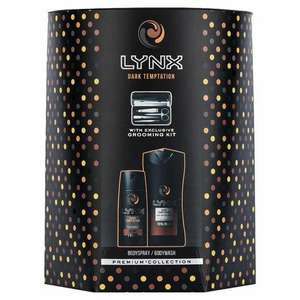 Lynx Dark Temptation Duo with grooming kit £5 Tesco in store