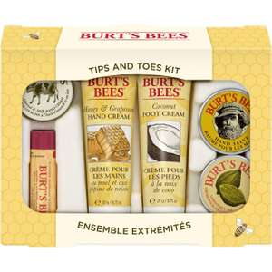Burt's Bees Tips and Toes Kit @ Amazon Deal Of The Day £7.17 Prime £11.66 Non Prime