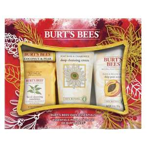 Burt's Bees Face Essentials Natural Gift Set, 4 Piece Set @ Amazon Deal Of T he Day £10.65 Prime 15.14 Non Prime.
