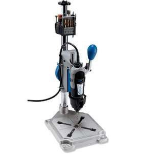 Dremel 3-in-1 Workstation, Drill Press, Rotary Tool Holder, and Flex-Shaft Tool Stand - Black/Blue [Energy Class A] £26.99 @ Amazon