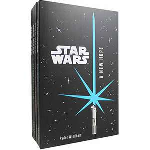 Star Wars - 4 Book Collection  £6.00 free C&C  @ The Works