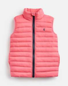Joules Childs pink gilet £12.95 with free delivery @ Joules / eBay