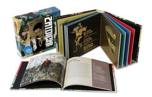 Zatoichi 9 disc criterion collection blu ray set £21.93 amazon prime.