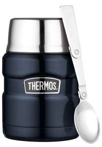 Thermos Stainless King Food Flask, Black/Red/Midnight Blue, 470 ml £13.64 Prime / £18.13 Non Prime @ Amazon