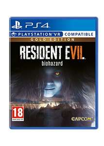 Resident Evil 7 Gold Edition PS4 £19.99 @ Base