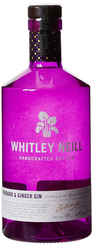 Whitley Neill Gin 70 cl £17.99 All varieties stocked (Rhubarb & Ginger - Original - Raspberry - Blood Orange - Violet) @ Spar