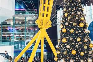 Free Gift-Wrapping & Complimentary Mince Pies and Mulled Cider at O2 Icon