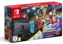 Nintendo Switch Neon + Mario Kart 8 Deluxe on SWITCH Bundle with Donkey Kong, Sports Party and Just Dance - £346.40 @ ShopTo