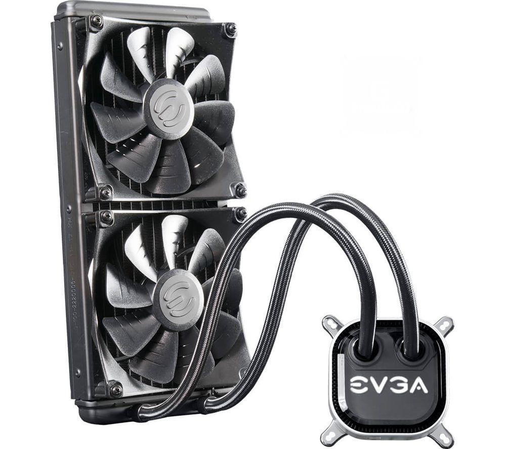 EVGA CLC 280 Liquid Cooler 2 x 140mm Fans £89.99 @ Currys