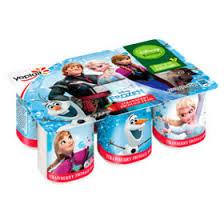 Disney Kitchen Frozen Strawberry Fromage Frais 6x45g 39p @ Heron Foods.