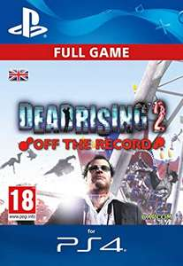 Dead Rising / Read Rising 2 / Dead Rising 2 Off The Record PS4 £4.99 each - PSN Codes for U.K. accounts from Amazon.