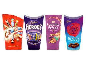 Boxes of Quality Street, Roses, Celebrations,Wine Gums , Eclairs , Haribo etc Any 3 for £5 @ Morrisons