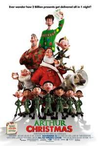 Free Arthur Christmas digital download on Sky Store from 13th December