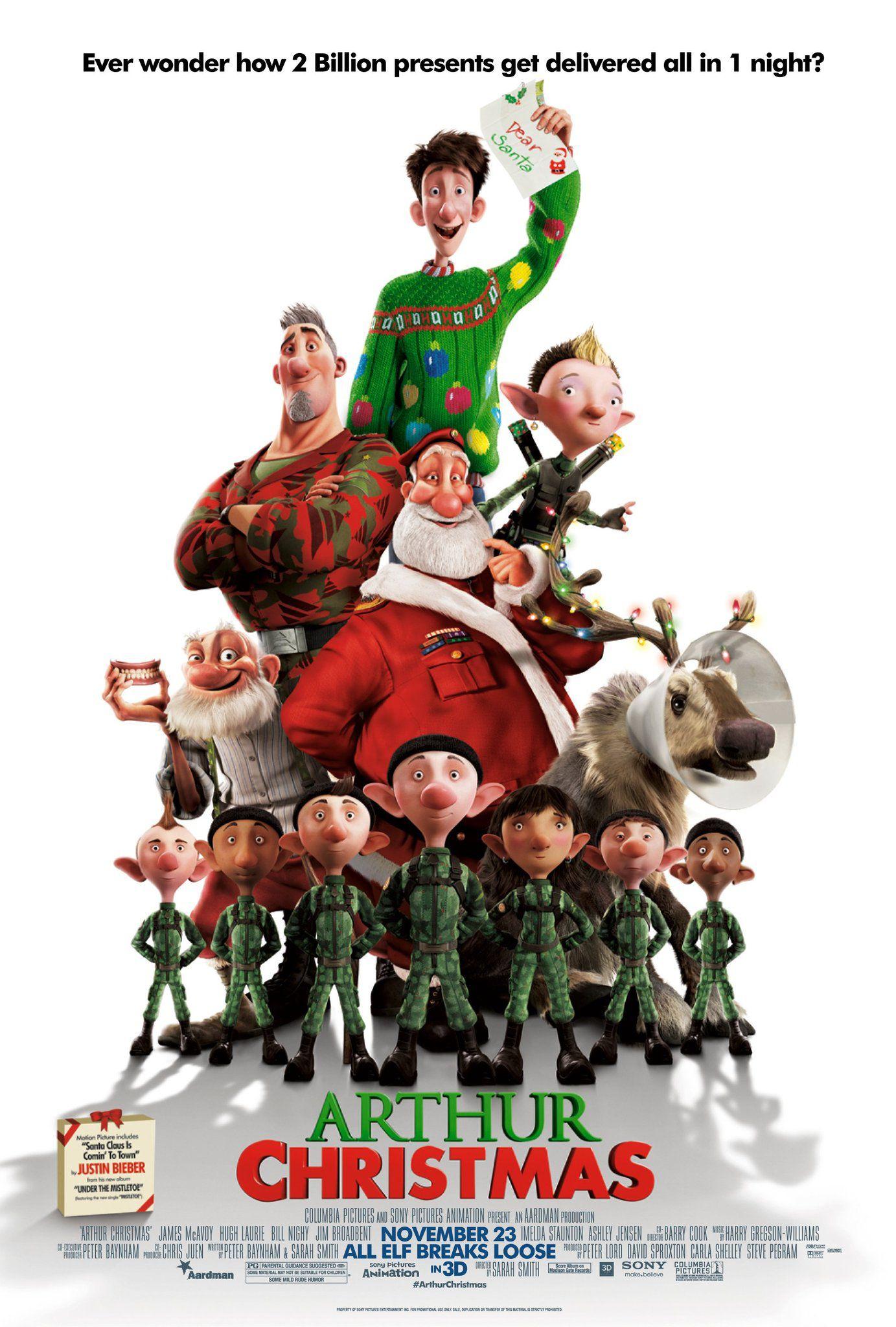 Free Arthur Christmas digital download on Sky Store