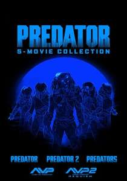 Predator 5 Movie HD Digital Boxset £7.99 at Sky Store