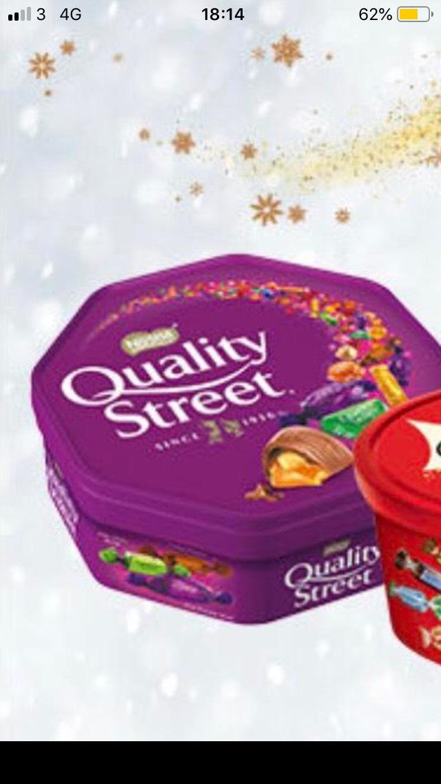 Quality Street 750g @ Aldi £3.99