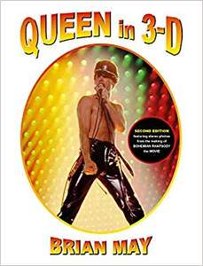 Brian May's Queen In 3D Hardback (Updated Edition). Only £17.93 delivered at Wordery.com