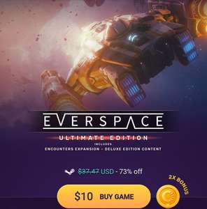 Everspace Ultimate Edition, for all you new VR headset owners. £7.85 @ Chrono