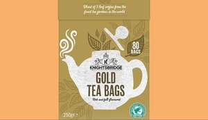 Knightsbridge Gold tea bags only 69p @ lidl this Weekend only.