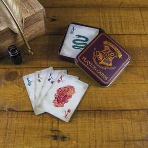 Harry Potter Playing Cards in a Metal Embossed Gold Tin box £3.50 C+C Superdrug