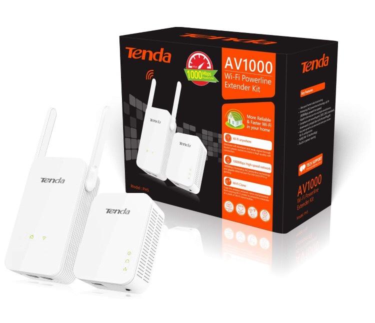 Tenda PH5 WiFi Powerline Kit 1000mbps @ CCL £26.35 Delivered