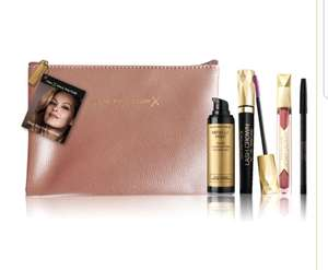 Spend £16+ on Max Factor Cosmetics and receive a FREE gift @ Boots Free C&C