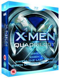 X-Men Quadrilogy Blu-ray Used £2.96 delivered @ Music Magpie