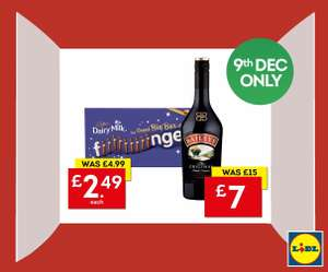 Baileys 70cl £7 @ Lidl Northern Ireland today only.