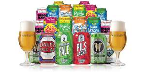 20 Craft Beers Tiny Rebel / Four Pure + FREE Delivery and Glasses £19 @Flavourly
