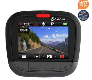 "Cobra CDR 875 G HD Dash Cam with 2"" LCD Screen and Built-In GPS £74.89 @ Costco"