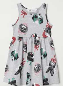 Festive Sleeveless jersey dress £1.59 delivered @ H&M (club members only)