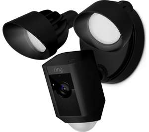 Ring Floodlight Camera in Black/White from Currys £179