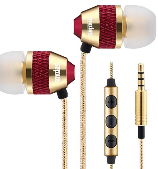 Sephia SP1050 Noise Isolating in-ear Earphones Headphones, HEAVY DEEP BASS - £5.94 Price / Non £10.43 @ sold by Sephia FBA Amazon