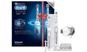 2 x Oral B Genius 8000 (i.e. 8900) Electric Toothbrush £113.40 (£56.70 each) @ Groupon