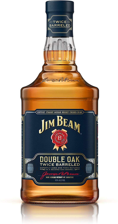 Jim Beam Double Oak Kentucky Straight Whiskey, 70 c £15.30 Prime / £19.89 Non Prime @ Amazon