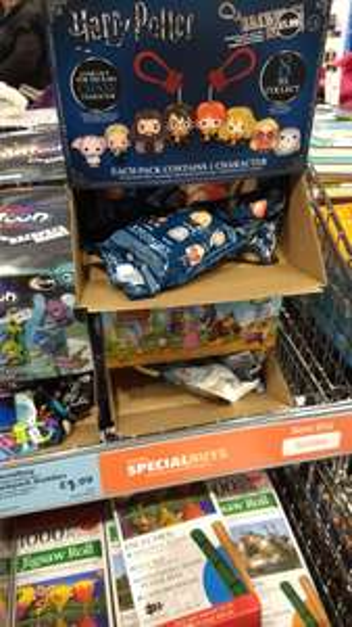 Backpack Buddies - Harry Potter, Zelda, Splatoon and Super Mario £1.99 @ Aldi