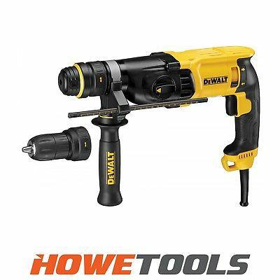 DEWALT D25134K 240v 3 function hammer drill SDS plus £121.29 @ howetoolsltd Ebay