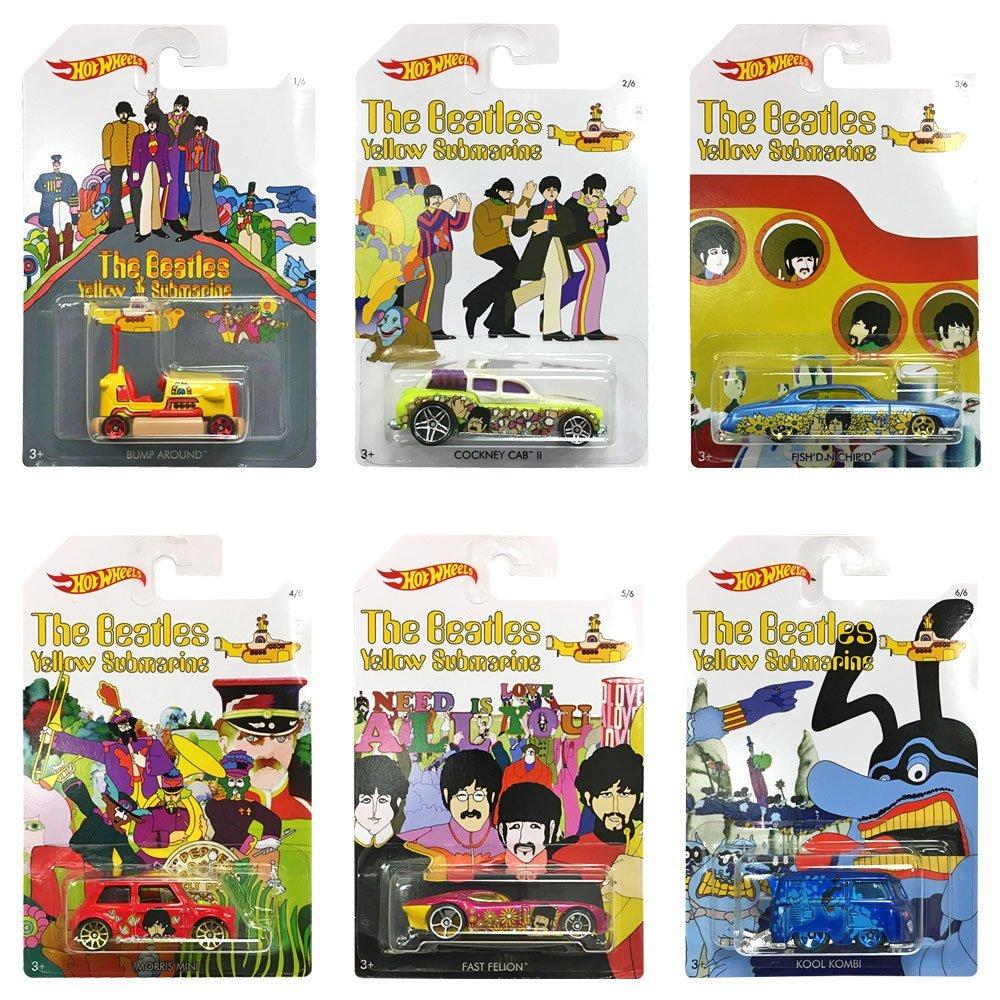 The Beatles Yellow Submarine Hot Wheels Diecast Car - £1.99 each instore @ Home Bargains
