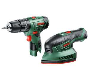 Bosch Cordless EasyImpact 12 & EasySander 12 with Battery for £72.99 Free C&C @ Argos