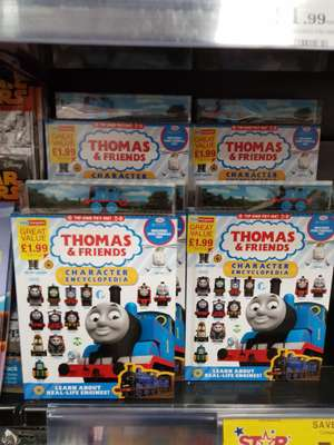 Thomas and Friends Character Encyclopedia instore - £1.99 instore @ Home Bargains