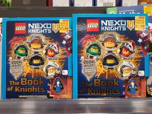 LEGO NEXO KNIGHTS The Book of Knights: Includes Exclusive Merlok Mini figure - £1.99 instore @ Home Bargains