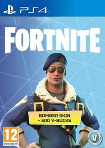 Fortnite Royale Bomber skin + 500 V Bucks PS4 - £12.99 @ CDKeys