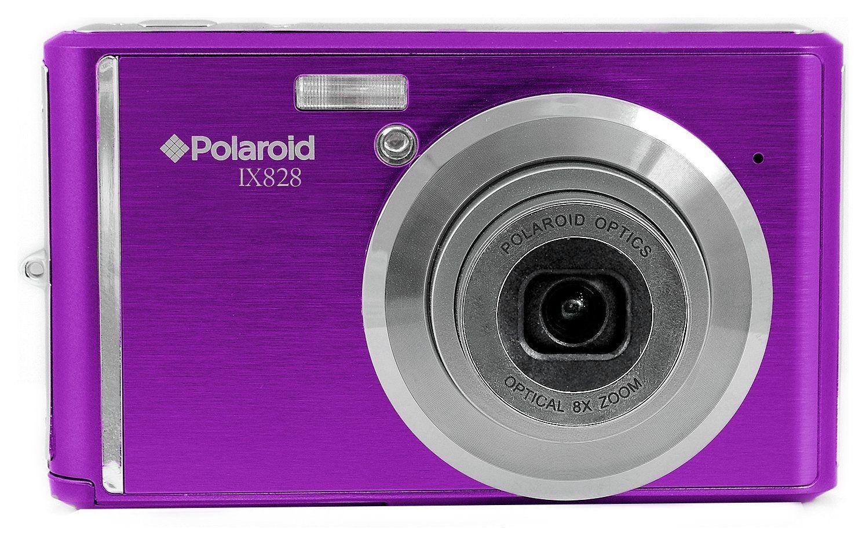 Polaroid IX828 20MP 1080p 2.4 Inch LCD 8x Zoom Compact Camera Purple free C&C  @ Argos on eBay  12 Month Guarantee