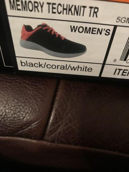 Fila black memory foam trainers - £8 instore @ Costco