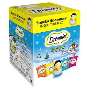 Dreamies Christmas Gift Box 10 pack with Treat Giving Toy - £2.99 @ JTF in-store (£4 Tesco/Home Bargains)